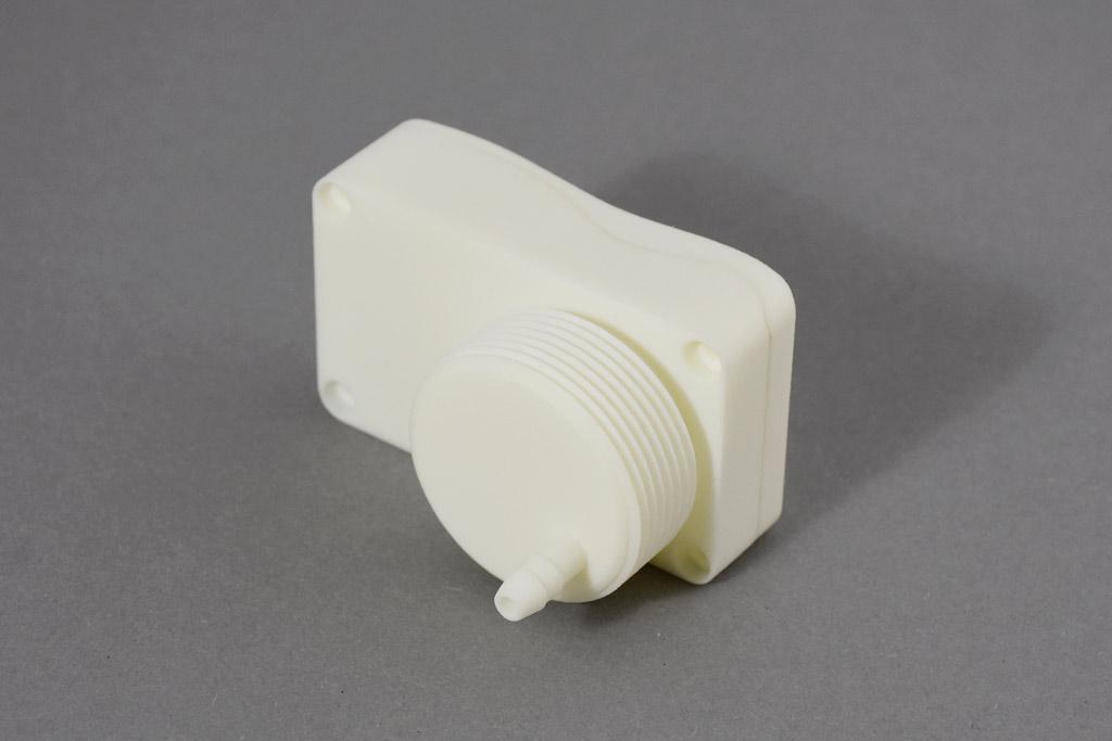 Izdelek, natisnjen s tehnologijo SLS (lasersko sintiranje).