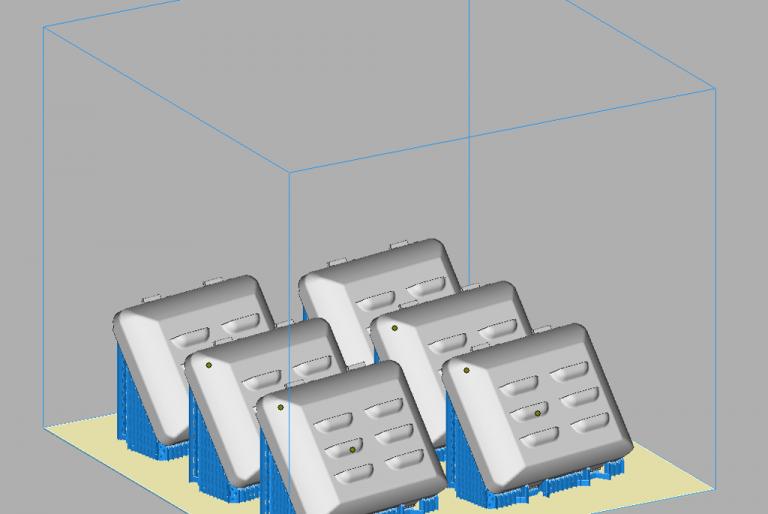 3D model pred tiskom