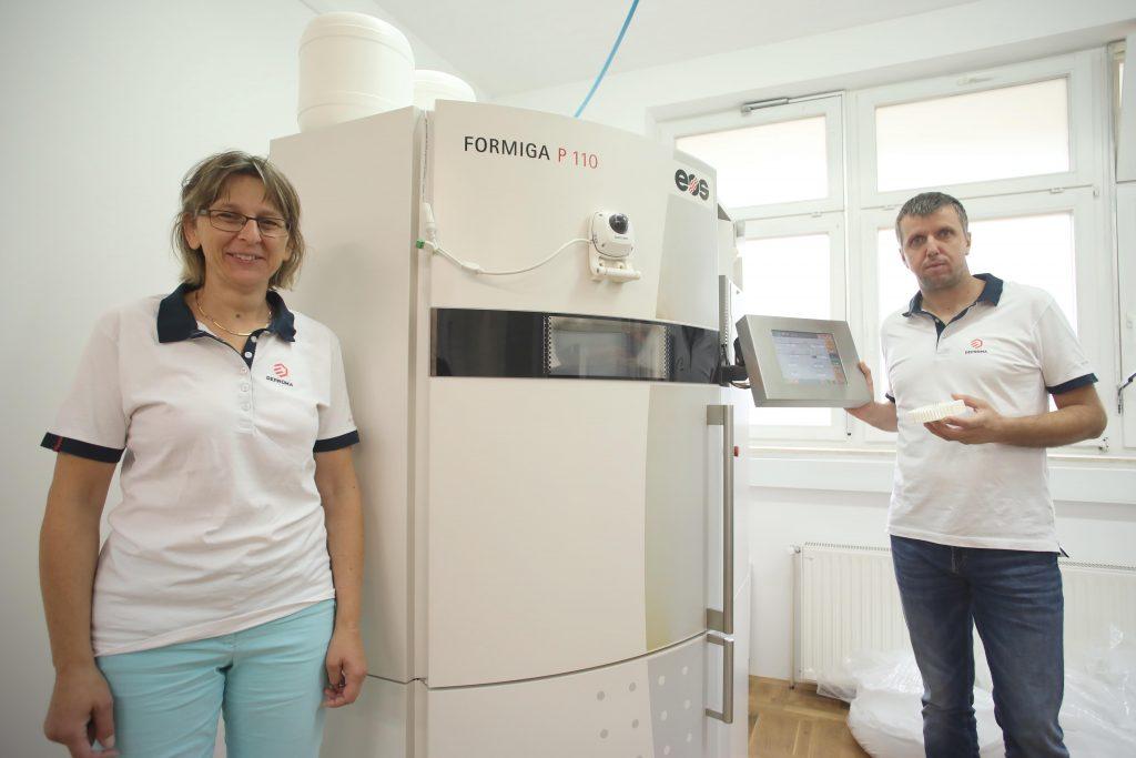 Podjetje Deproma d.o.o. je največji slovenski ponudnik industrijskih 3D tiskanih izdelkov s tehnologijami SLS in SLA.